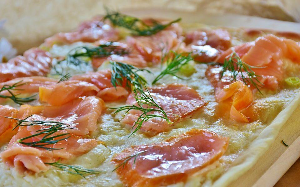 Tarte au saumon et à la ciboulette