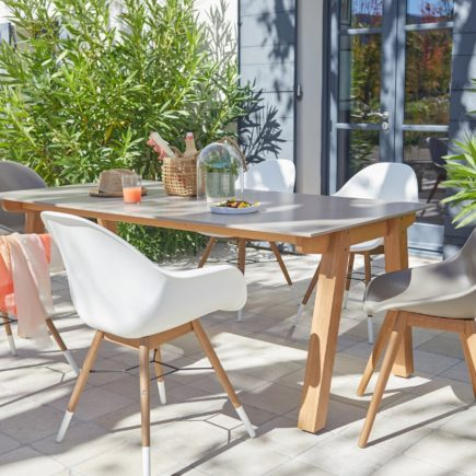Salon de jardin Scandinave