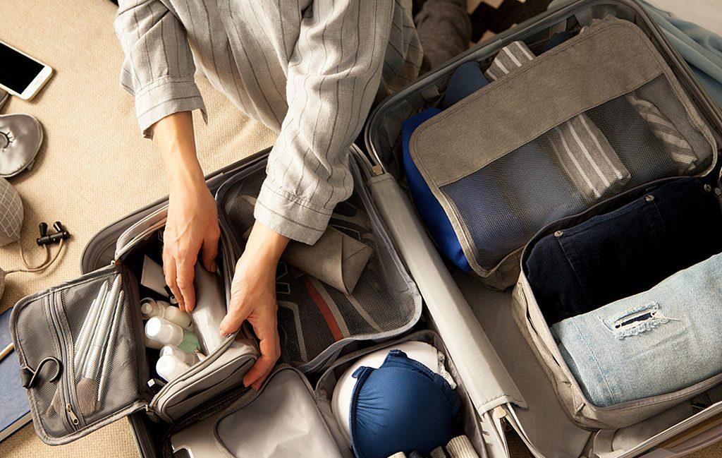 contenus essentiels d'une valise